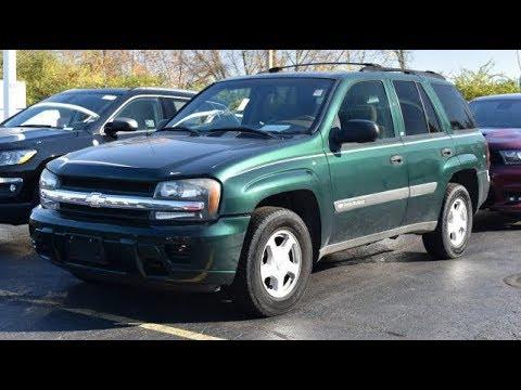 2003 Chevrolet TrailBlazer LS 4X4 For Sale Dayton Troy Piqua Sidney Ohio |  CP15393BT