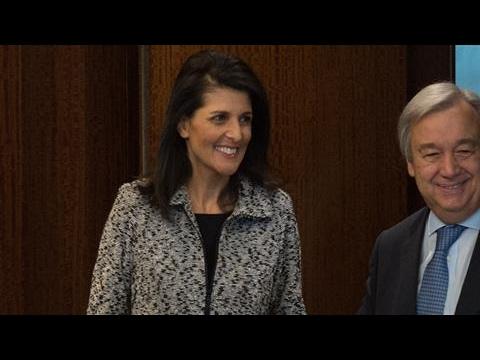 Haley Condemns Russian Actions in Ukraine