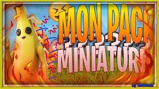 MON NOUVEAU PACK MINIATURE FORTNITE /PHOTOSHOP CS6/INFINITEV2