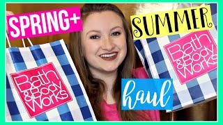 HUGE Bath & Body Works Haul Spring / Summer 2017! ✿ MissGlamBAM