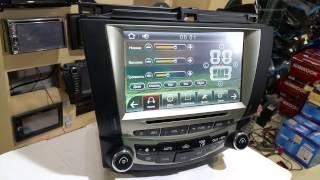 Штатная магнитола Honda Accord 2003 2007г GPS обзор