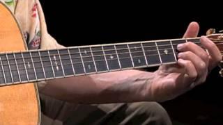 Fingerpicking Blues Guitar in A