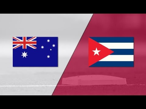 2017 World Baseball Classic: Cuba vs Australia Highlights