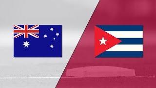 2017 World Baseball Classic: Cuba vs Australia Highlights