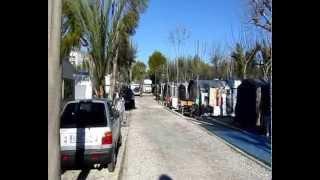 Overwinteren op camping Cap Blanch Altea Spanje 2011
