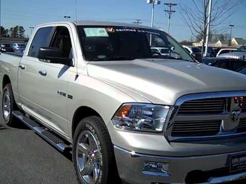 2010 dodge ram 1500 big horn crew cab in charlotte nc lake norman chrysler jeep dodge youtube. Black Bedroom Furniture Sets. Home Design Ideas