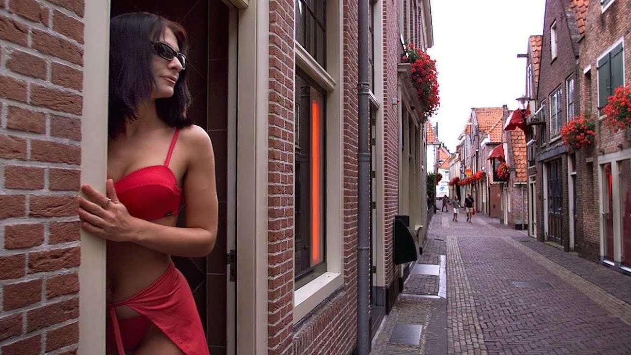 Amsterdam red light district hidden camera