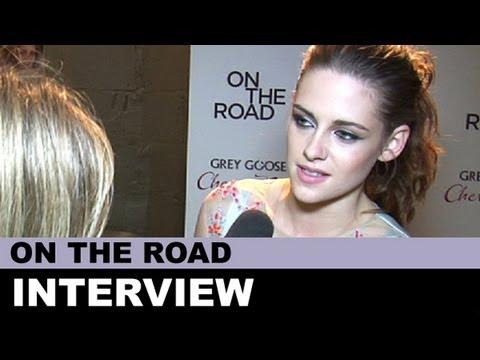 On The Road Kristen Stewart Interview + Walter Salles, Garrett Hedlund : Beyond The Trailer