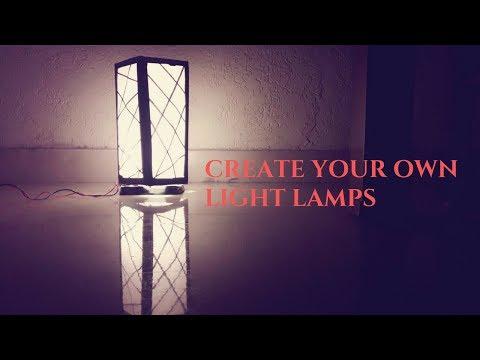 DIY- How To Make a Diwali Night Lamp