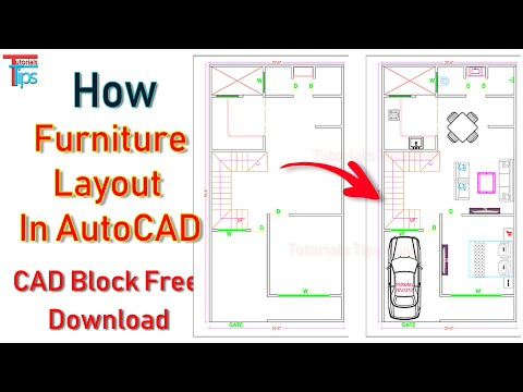 how-to-layout-furniture-in-plan-|-about-cad-blocks-|-edit-|-free-cad-block