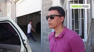 видео: В Бишкеке выявили салон, где ставят двойные стекла с тонировкой