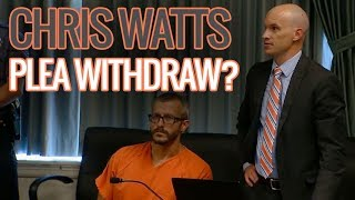 Will Chris Watts Attempt To Withdraw His  Guilty Plea?  Let's Talk About It.