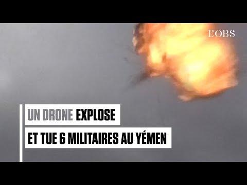 Un drone attaque des militaires et fait 6 morts au Yémen