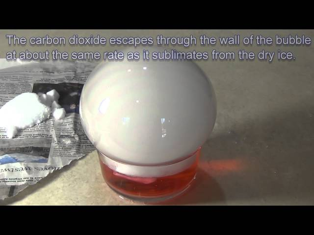 Dry Ice Crystal Ball - Giant Dry Ice Bubble