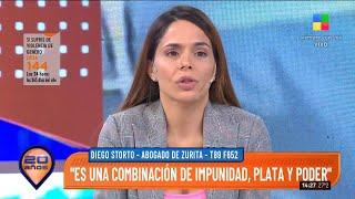 Melisa Zurita, su marido y abogado en Intrusos: