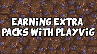 How To Use Playvig To Get Extra Packs in Hearthstone