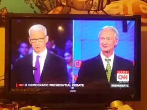 Lincoln Chafee best moment democratic debate 2016