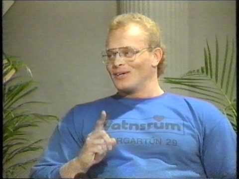 Í takt við tíman - Jón Páll Sigmarsson 1986