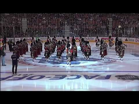 Toronto Maple Leafs Home Opener - The 48th Highlanders - Oct 7th 2010 (HD)
