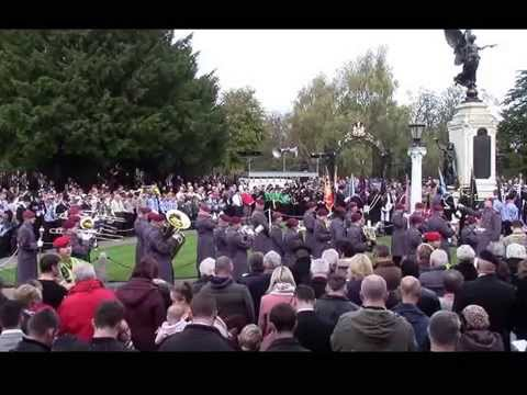 Colchester's Remembrance Day 2014