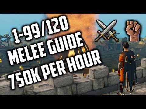 RuneScape 3 - Detailed 1-99/120 Melee Guide