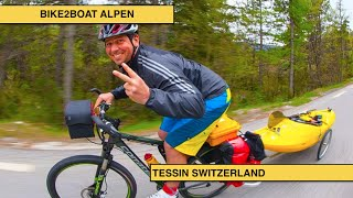 BIKE2BOAT ALPS EPISODE TESSIN SWITZERLAND