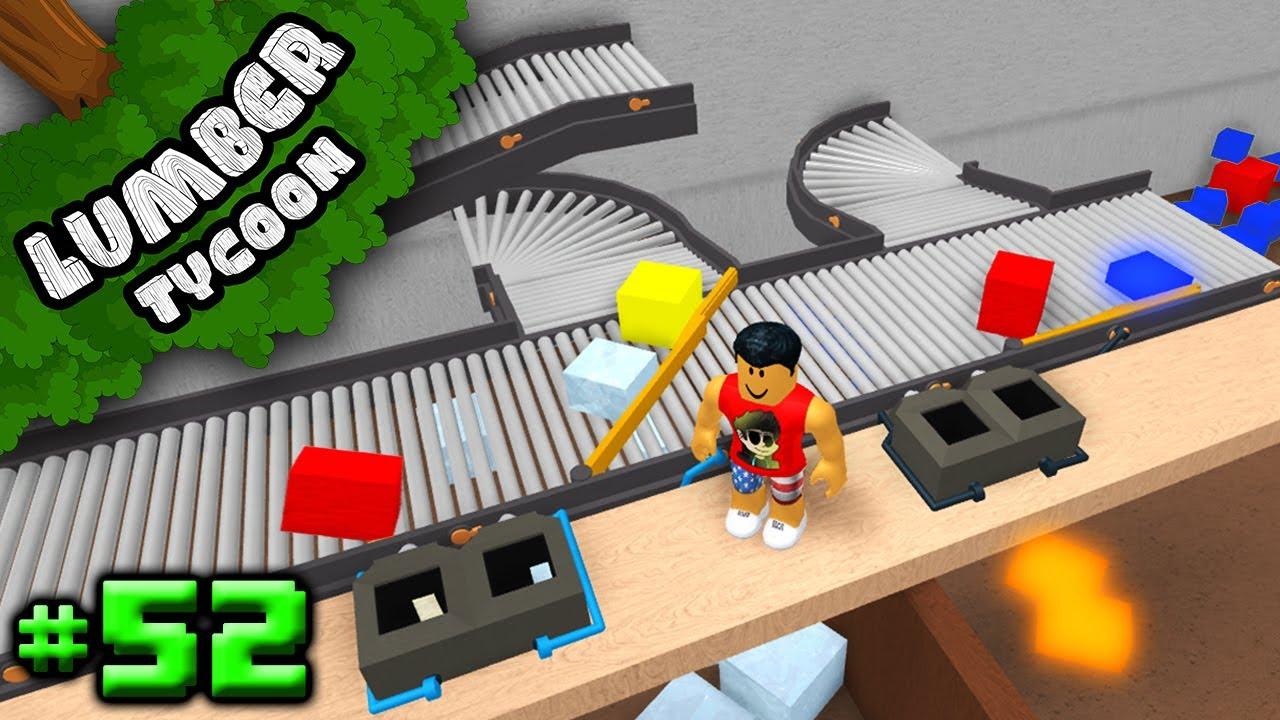 Lumber Tycoon #52: BEST WOOD SORTER SYSTEM | Roblox