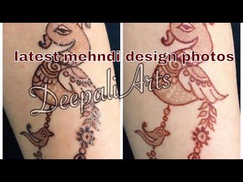 Latest mehandi design photos # 1.! Henna art during indian exhibition in Yerevan/armenia 2017.!