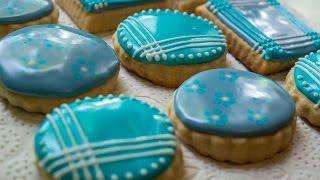 Белковая глазурь для украшения печенья