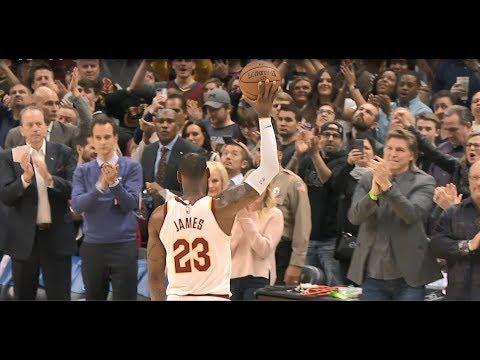 LeBron James and Michael Jordan's Similar Plays During Double Digit Scoring Streak!