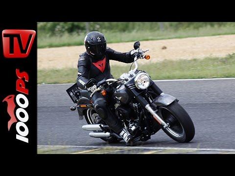 Harley-Davidson Fat Boy auf der Rennstrecke | Dauertest Teil 2