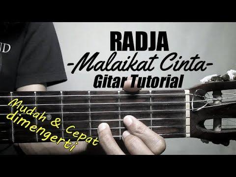 (Gitar Tutorial) RADJA - Malaikat Cinta Ost Malaikat Cinta | Mudah & Cepat dimengerti