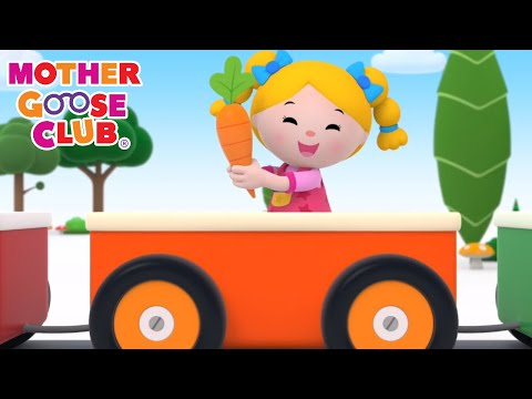 Color Train   Nursery Rhymes from Mother Goose Club! Kids Play Video   Children