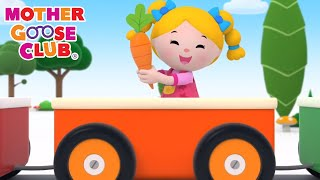 Color Train | Nursery Rhymes from Mother Goose Club! Kids Play Video | Children