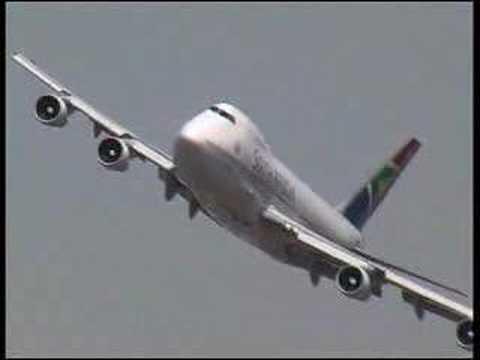 Boeing 747 South African Airways Fantastique Pilote