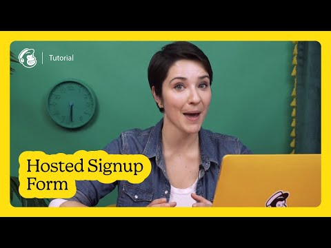 Build a Hosted Signup Form in Mailchimp (November 2020)