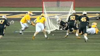 Towson Men's Lacrosse earns thrilling 12-11 win over cross-town rival, UMBC