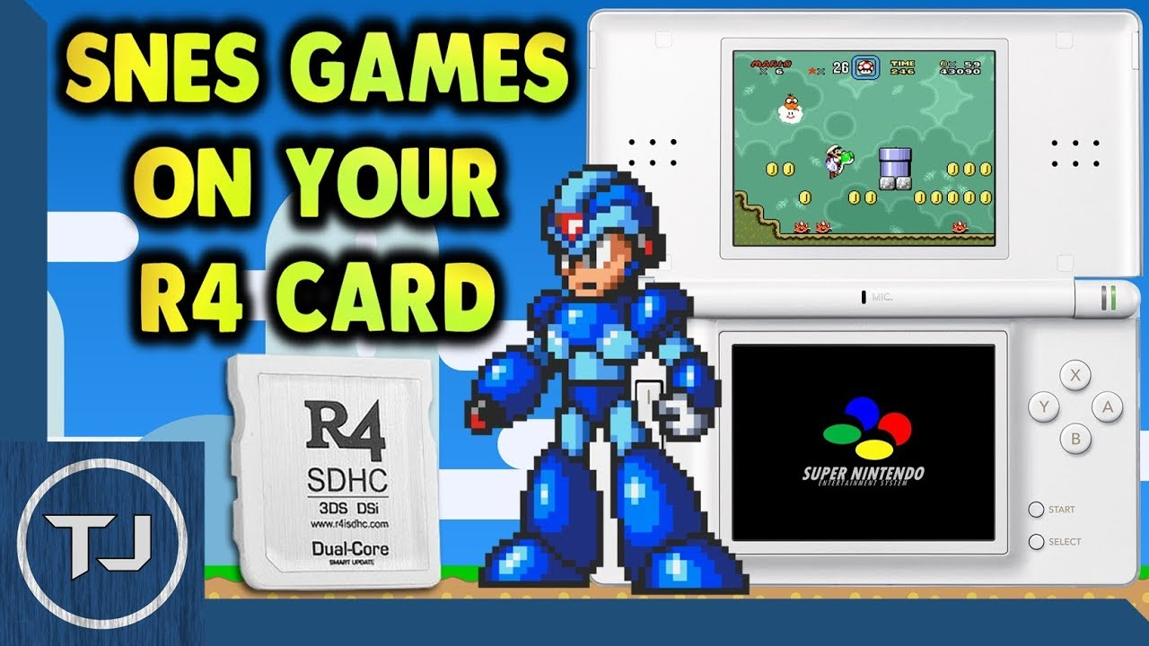 Play SNES ROM's On Any R4 Card! (DS/DSi/3DS) 2018!