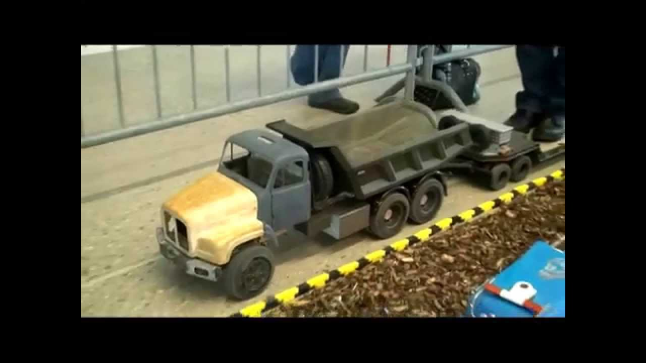 saurer 330 hp army tipper 1 8 rc matrac modellbau youtube. Black Bedroom Furniture Sets. Home Design Ideas