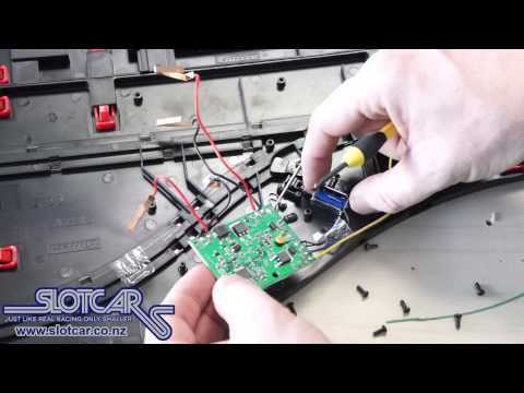 Carrera DIGITAL Slotcar electronics swap Mod Slotcar NZ