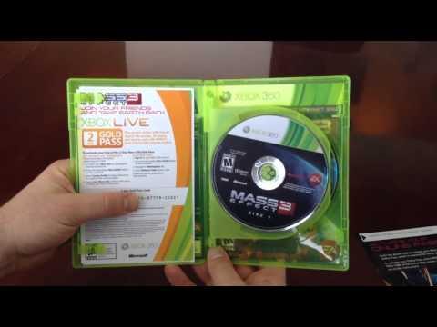 Mass Effect 3 - Bioware Unboxing
