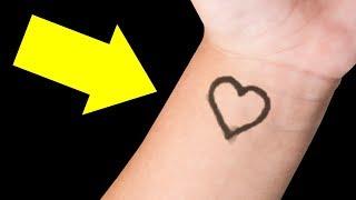 Se você vir um coração no pulso de uma criança, aqui está o que significa