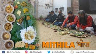 UNSEEN MITHILA FEAST in Bihar I Tilkor + Arikanch + Bagiya + chura dahi + sajmani + sarso machh
