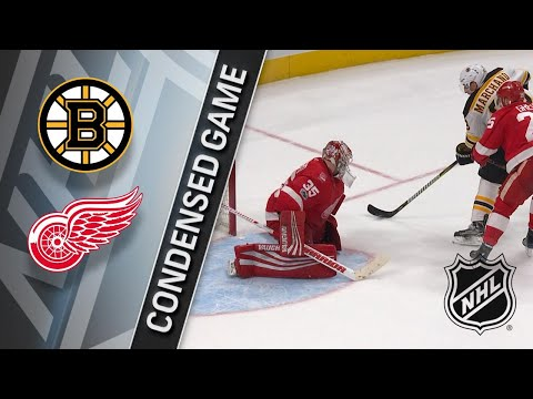 12/13/17 Condensed Game: Bruins @ Red Wings