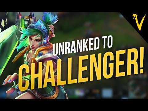 UNRANKED TO CHALLENGER! Promo games - Viper Stream Highlights Episode #45