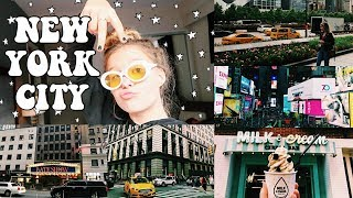 NEW YORK CITY VLOG & HAUL (Brandy Melville, Urban Outfitters)