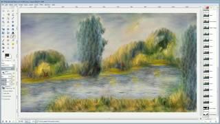 Компьютер рисует картины