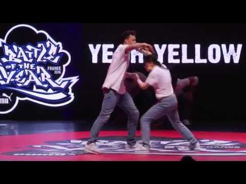 BOTY France 2016 – Show Yeah Yellow