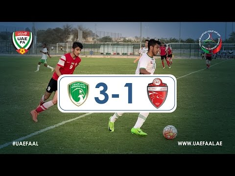 UAE FAAL - Emirates Club 3-1 Al Ahli | Week 11 Highlights