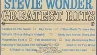 Stevie Wonder - I'm Wondering